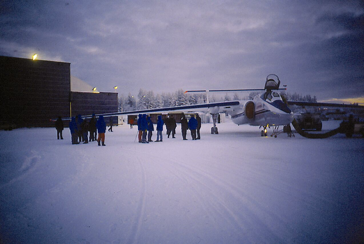 M55 in Rovaniemi during Polecat, 1996/97.