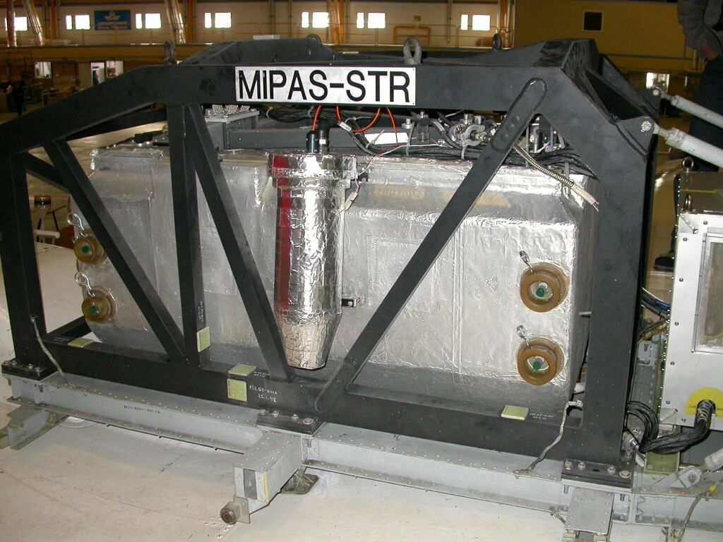 Side view of optic module.