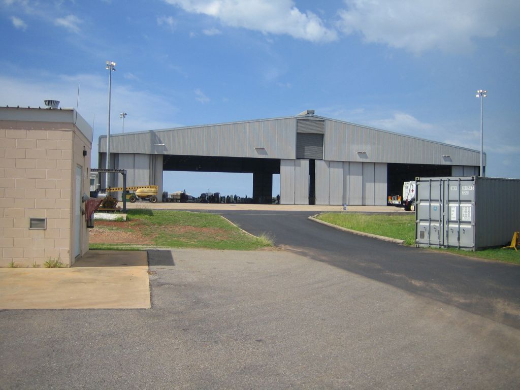 The A/C Hangar in Darwin, 2005.