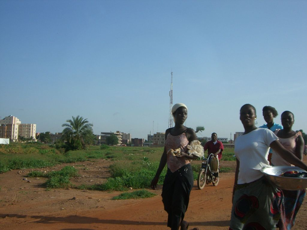 Young women in Ouagadougou, 2006.