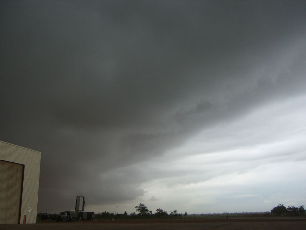 An MCS front at the airport of Ouagadougou, 2006.