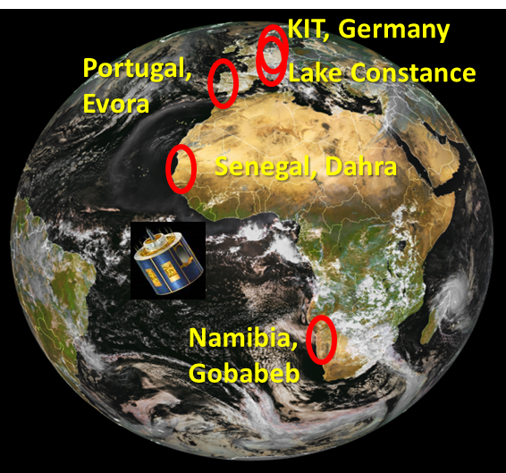overview of the station's locations